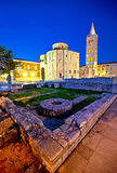 Old Zadar church and artefacts Stock Photography