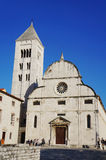old zadar landmarks Royalty Free Stock Images