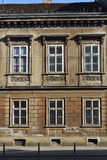 Old Zagreb residential house. Old residential house typical of Zagreb streets in the historical center of the city Royalty Free Stock Images