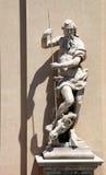 Old Zeus Statue Royalty Free Stock Photo