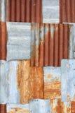 Old Zinc Background Stock Image