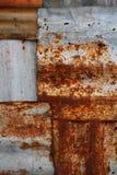 Old Zinc Background Royalty Free Stock Image