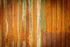 Old zinc fence background Stock Image