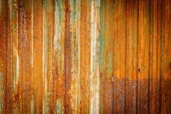 Old zinc fence background Stock Image