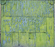 Old zinc fence background Royalty Free Stock Photos