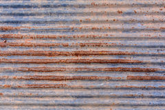 Old zinc rust texture and pattern. Background Royalty Free Stock Images