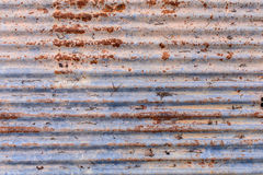 Old zinc rust texture and pattern. Background Stock Images