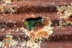 Old zinc rusty texture Royalty Free Stock Photos