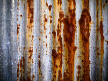Old zinc sheet Royalty Free Stock Photography