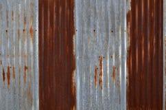Old zinc texture Stock Image