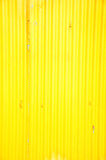 Old zinc yellow color Stock Photo