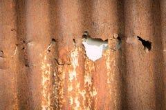 Old zink background Stock Photo