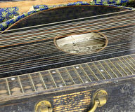 Old zither Stock Image
