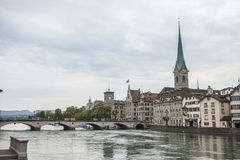 Old zurich, switzerland Stock Photography