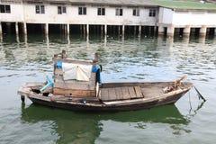Oldboat. Boat sea fishing Royalty Free Stock Photography