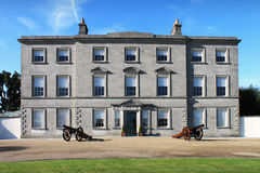 Oldbridge House Facade. The Battle Of The Boyne visitor centre in County Louth, Ireland Stock Image