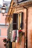 Oldbuilding in Rom Stockbilder