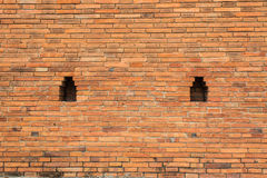 Olde Brick Wall , City wall in Chiangmai Stock Image
