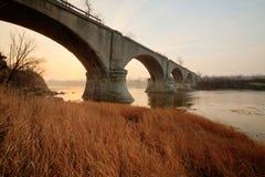 Olde Bridge stock image