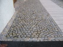 The Olde Cobblestone Path Royalty Free Stock Image