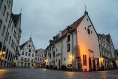 Olde Hansa restaurant in Old town of Tallinn, Estonia Royalty Free Stock Image