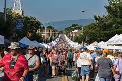 Olde Salem Days - Salem, VA, USA. Salem, VA – September 10th; Olde Salem Days is one of the largest outdoor street festival on the east coast. Over 50,000 royalty free stock photos