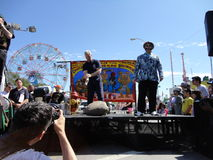 The Olde Time Coney Island Strongman Spectacular 17 Royalty Free Stock Photos