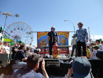The Olde Time Coney Island Strongman Spectacular 15 Stock Photo