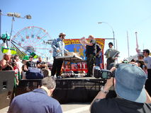 The Olde Time Coney Island Strongman Spectacular 14 Royalty Free Stock Photo