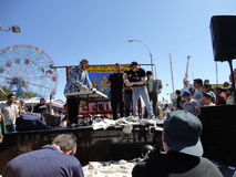 The Olde Time Coney Island Strongman Spectacular 9 Stock Image