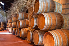 Olden casks Stock Photography