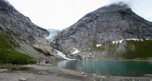 Olden, la Norvegia Immagine Stock Libera da Diritti