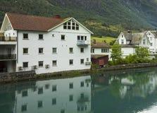 Olden, Noorwegen Royalty-vrije Stock Foto