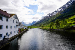 Olden, Noruega Foto de archivo