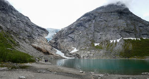 Olden, Noruega Imagen de archivo libre de regalías