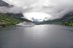 Olden,Sogn og Fjordane Norway. Stock Images