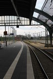 Oldenburg-Bahnstation Lizenzfreie Stockfotos