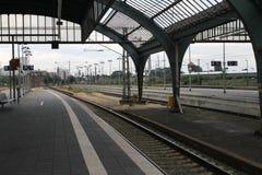 Oldenburg-Bahnstation Stockfoto
