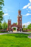 The Oldenburgsky Palace in Ramon settlement. In Russia Stock Images