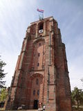Oldenhove Scheve Toren (Leaning Tower of Oldenhove) Royalty Free Stock Images