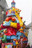 OLDENZAAL, PAÍSES BAIXOS - 6 DE MARÇO: Figuras gigantes durante a parada de carnaval anual em Oldenzaal, Países Baixos Fotos de Stock Royalty Free