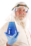 Older arabic scientist Stock Images