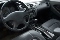 Older Automobile Interior Royalty Free Stock Photography