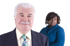Older Business Man Royalty Free Stock Photo