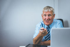 Older business man Stock Photo