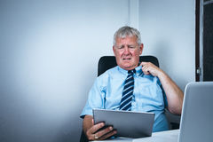 Older business man Royalty Free Stock Photography