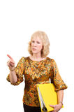 Older business woman Royalty Free Stock Images