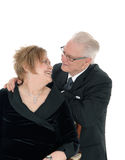 Older couple looking at each. Stock Photography