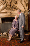 Older couple portrait Stock Photography