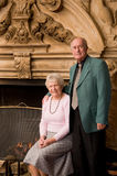 Older couple portrait Stock Photo